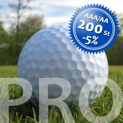 PRO Mix - Qualität AAA/AA - 200 Stück