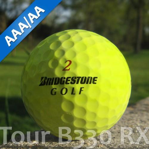 Bridgestone Tour B330 RX Gelb Lakeballs