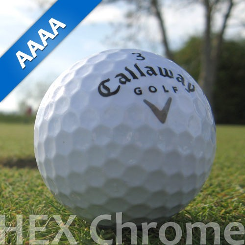 Callaway HEX Chrome Lakeballs