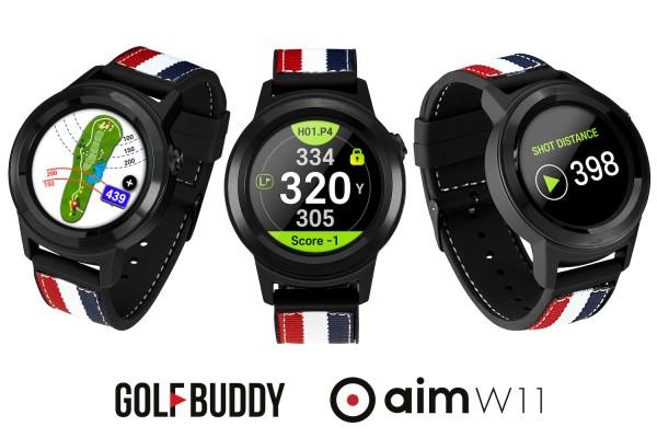GOLF BUDDY AIM W11 Watch - Digital Golfuhr