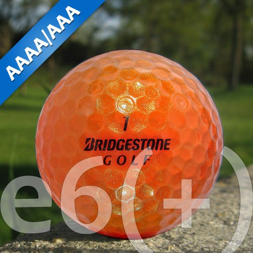 Bridgestone e6(+) Orange Lakeballs