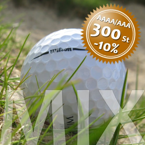 Wilson Mix - Qualität AAAA/AAA - 300 Stück
