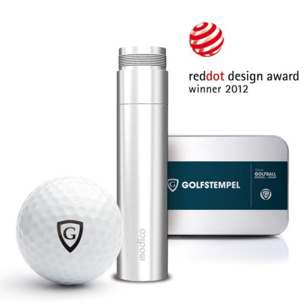 Geschenkbox Golfballstempel A12 mit Gutschein