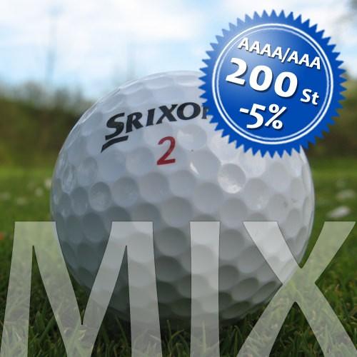 Srixon Mix - Qualität AAAA/AAA - 200 Stück
