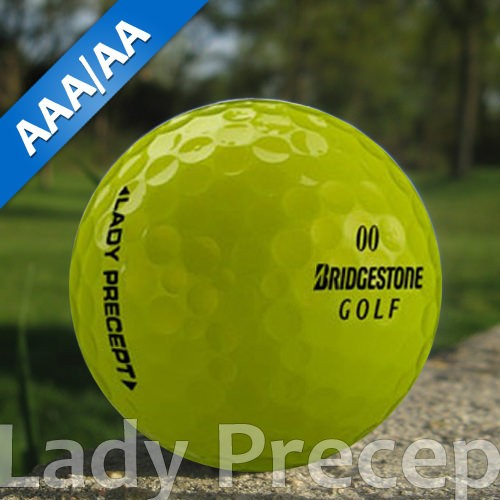Bridgestone Lady Precept Gelb Lakeballs