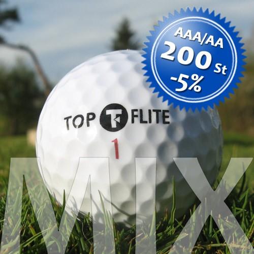 Top-Flite Mix - Qualität AAA/AA - 200 Stück