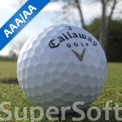 Callaway Supersoft Lakeballs