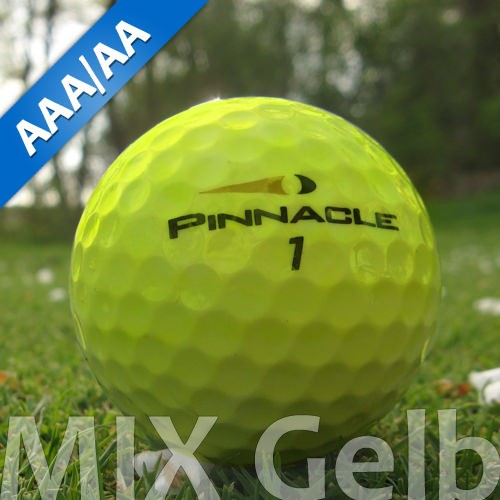 Pinnacle Mix Gelb Lakeballs - 25 Stück