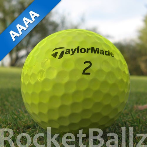 Taylor Made RocketBallz Gelb Lakeballs