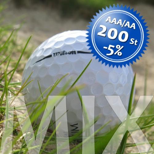 Wilson Mix - Qualität AAA/AA - 200 Stück