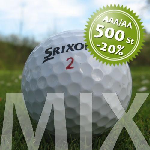 Srixon Mix - Qualität AAA/AA - 500 Stück