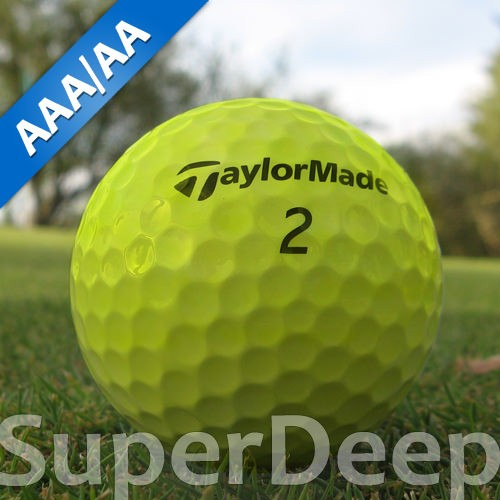 Taylor Made SuperDeep Gelb Lakeballs