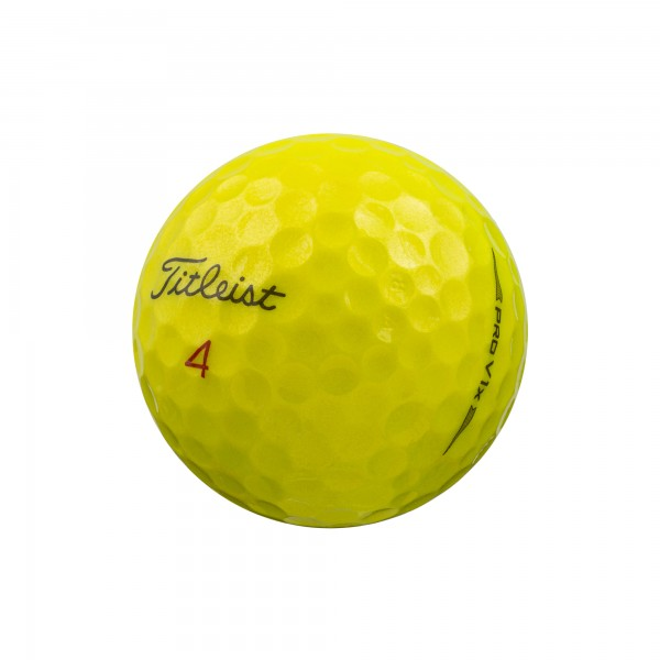 Titleist Pro V1x Gelb MODELL 2020 Lakeballs