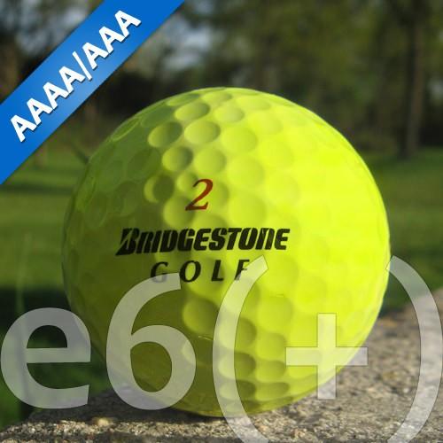Bridgestone e6(+) Gelb Lakeballs - 25 Stück