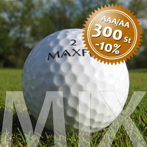 Maxfli Mix - Qualität AAA/AA - 300 Stück