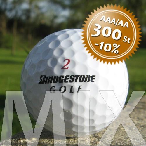 Bridgestone Mix - Qualität AAA/AA - 300 Stück
