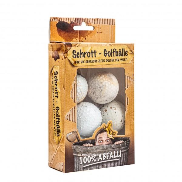 """""""Schrott-Golfbälle"""" - 6 Stk."""