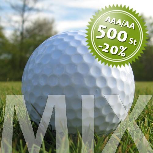 Marken Mix - Qualität AAA/AA - 500 Stück