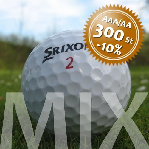 Srixon Mix - Qualität AAA/AA - 300 Stück