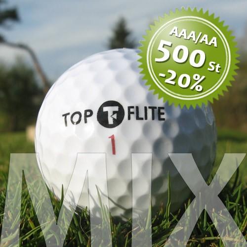 Top-Flite Mix - Qualität AAA/AA - 500 Stück