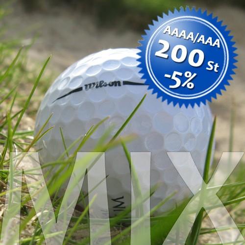Wilson Mix - Qualität AAAA/AAA - 200 Stück
