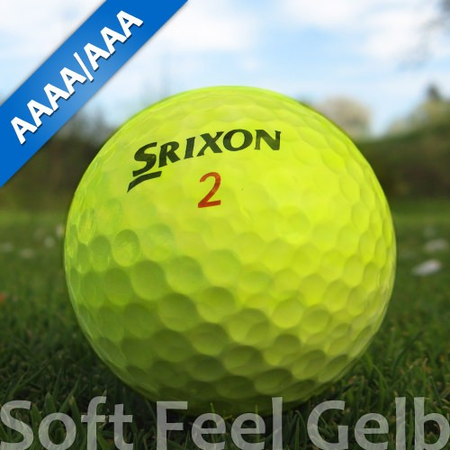 Srixon Soft Feel Gelb Lakeballs
