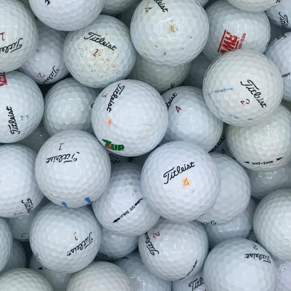 Titleist Mix Lakeballs CROSS / PRACTISE Qualität