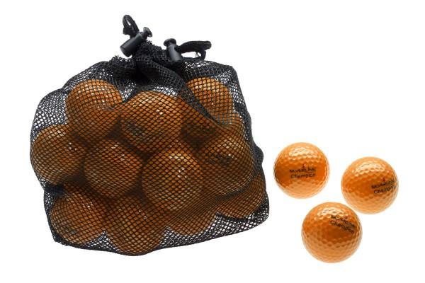 Champion Golfbälle - ORANGE - 25 Stück im Netzbeutel