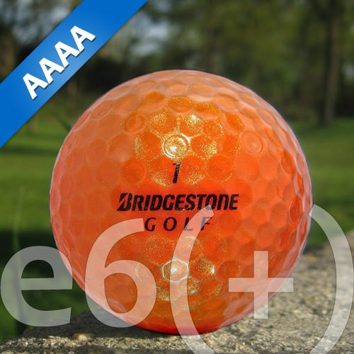 Bridgestone e6(+) Orange Lakeballs - 25 Stück