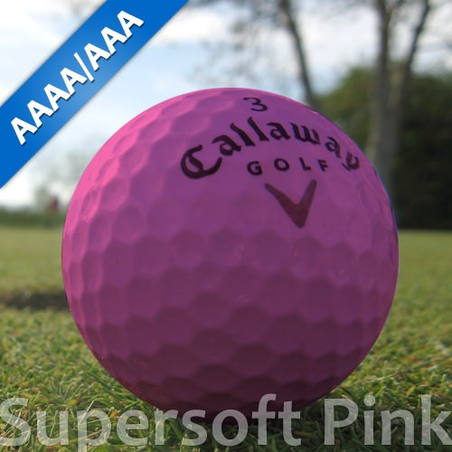 Callaway Supersoft Pink Lakeballs