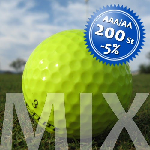 Bunte Lakeballs Mix - Qualität AAA/AA - 200 Stück