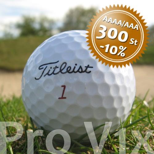 Titleist Pro V1x - Qualität AAAA/AAA - 300 Stück
