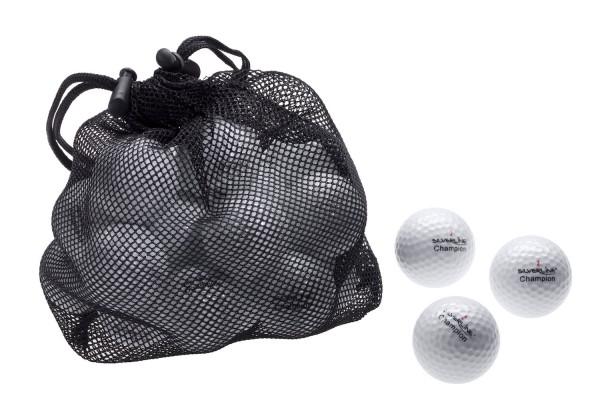 Champion Golfbälle - WEIß - 25 Stück im Netzbeutel