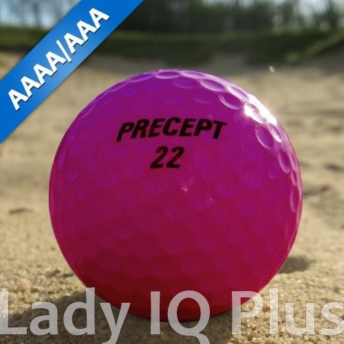Precept Lady IQ Plus Pink Lakeballs - 25 Stück