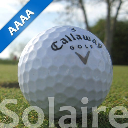 Callaway Solaire weiss Lakeballs
