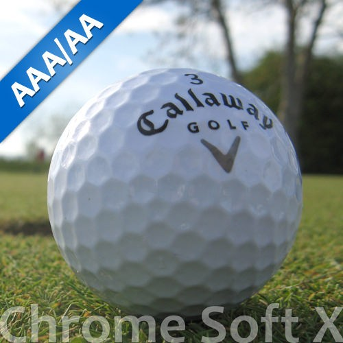 Callaway Chrome Soft X Lakeballs